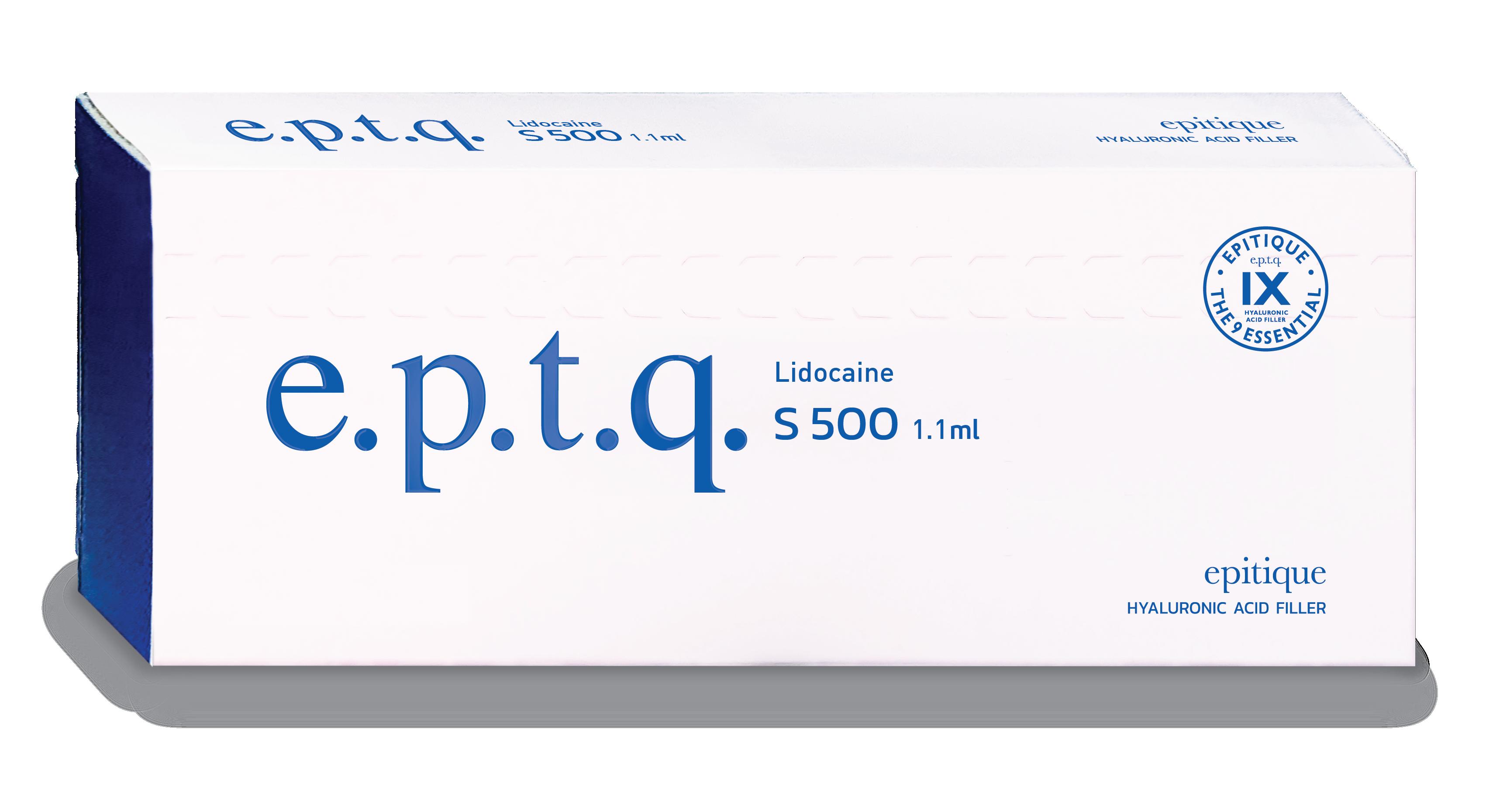 eptq s500 lidocaine